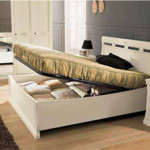 Кровать с механизмом Venere Avorio