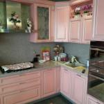 Корсика: розовая с серебряной патиной.